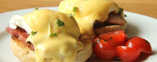 Spiro's Taverna Breakfast Eggs Benedict