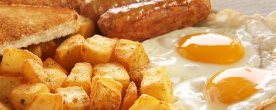 Spiro's Taverna Breakfast Eggs and SIdes
