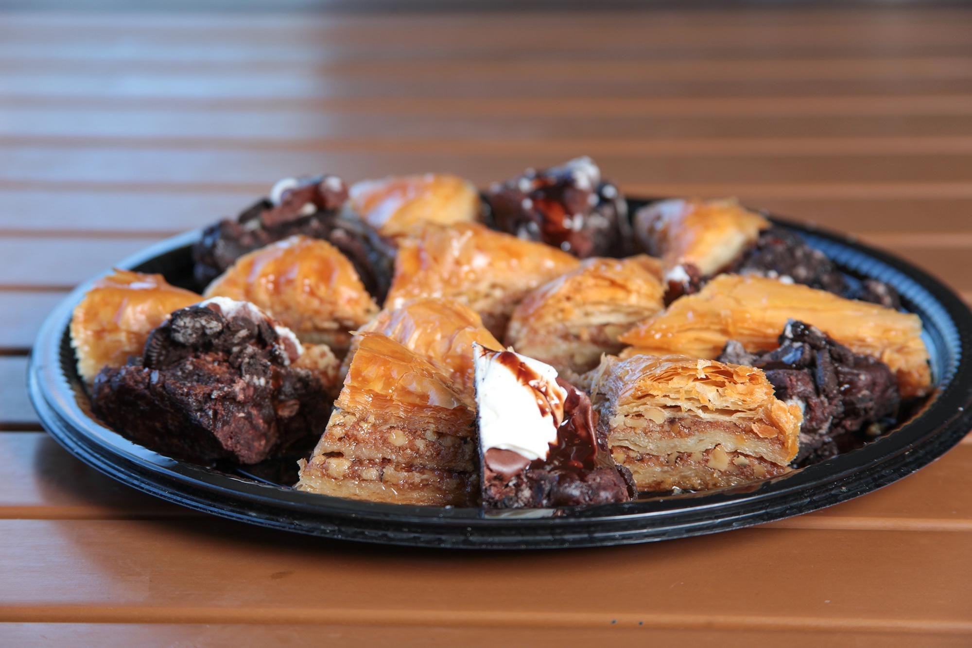 Spiro's Taverna Catering Desserts