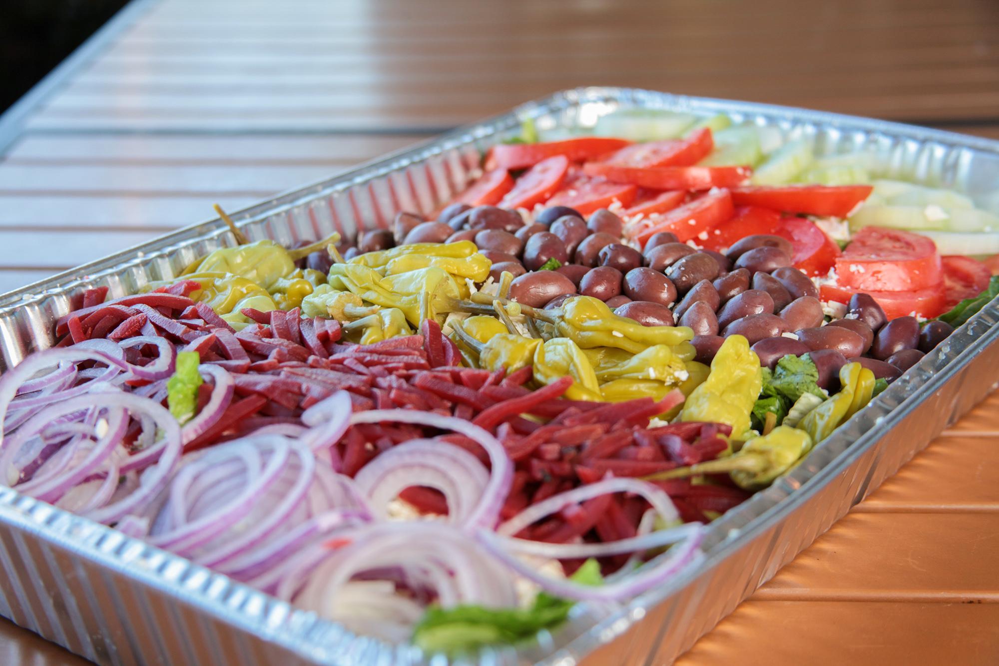 Spiro's Taverna Catering Salad