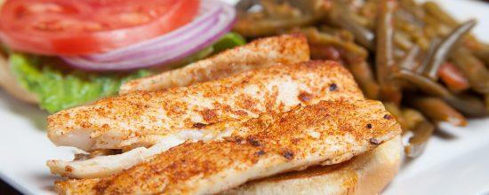 Spiro's Taverna Chicken Sandwich
